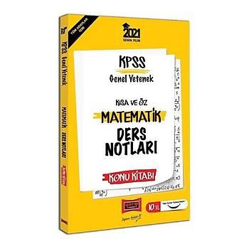 Yargý 2021 KPSS Matematik Kýsa ve Öz Ders Notlarý Konu Kitabý Yargý Yayýnlarý