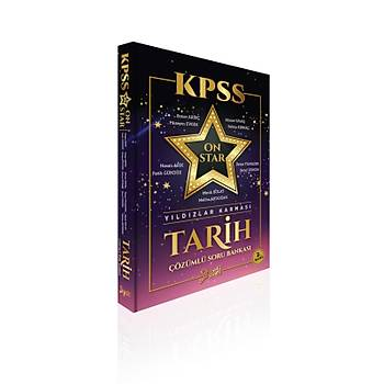 KPSS ON STAR Yýldýzlar Karmasý Tarih Çözümlü Soru Bankasý