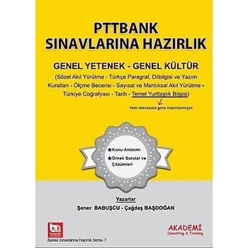 Akademi PTT BANK Sýnavlarý Genel Yetenek Genel Kültür Akademi Consulting Yayýnlarý