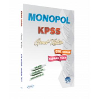 2020 KPSS Genel Kültür Yaprak Test Monopol Yayýnlarý