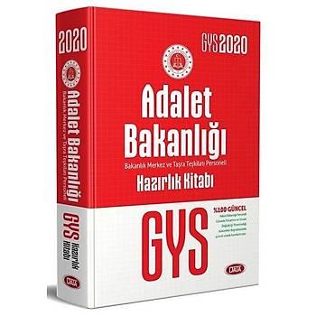 Data 2020 GYS Adalet Bakanlýðý Merkez Taþra Teþkilatý Konu Anlatýmlý Hazýrlýk Kitabý Görevde Yükselme