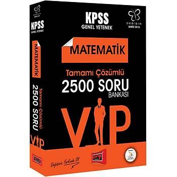 Yargý Yayýnlarý 2018 KPSS Deðiþim Serisi VIP Matematik Tamamý Çözümlü 2500 Soru Bankasý