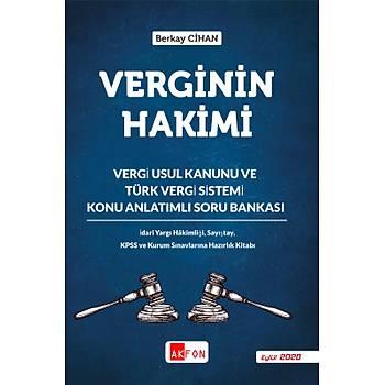 Verginin Hakimi Vergi Usul Kanunu Ve Türk Vergi Sistemi Konu Anlatýmlý Soru Bankasý Berkay Cihan 2020
