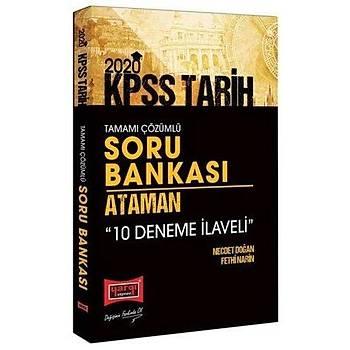KPSS Ataman Tarih Tamamý Çözümlü Soru Bankasý 10 Deneme Ýlaveli Yargý Yayýnlarý 2020