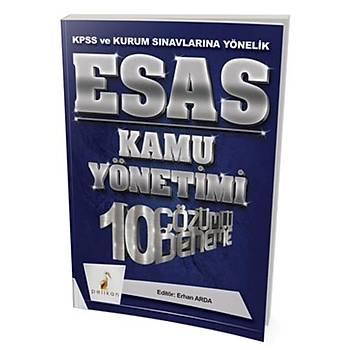 KPSS A Grubu ESAS Kamu Yönetimi 10 Çözümlü Deneme Pelikan Yayýnlarý