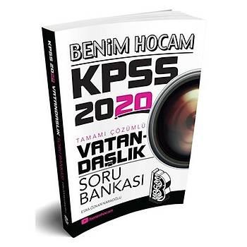 KPSS Vatandaþlýk Tamamý Çözümlü Soru Bankasý Benim Hocam Yayýnlarý 2020