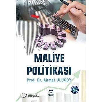 Maliye Politikasý Ahmet Ulusoy