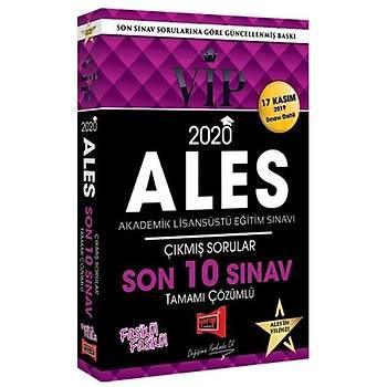 ALES VIP Son 10 Sýnav Çýkmýþ Sorularý ve Çözümleri Yargý Yayýnlarý 2020