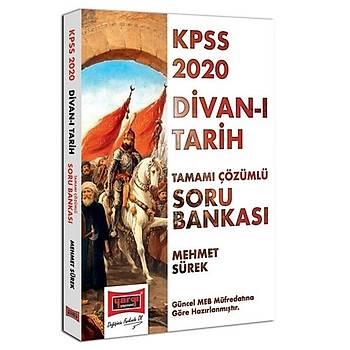 KPSS Divan-ý Tarih Tamamý Çözümlü Soru Bankasý Yargý Yayýnlarý 2020
