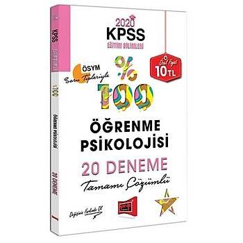 KPSS Eðitim Bilimleri Öðrenme Psikolojisi Tamamý Çözümlü 20 Deneme Yargý Yayýnlarý 2020