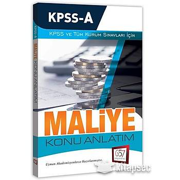 2018 KPSS A Grubu Maliye Konu Anlatým 657 Yayýnlarý