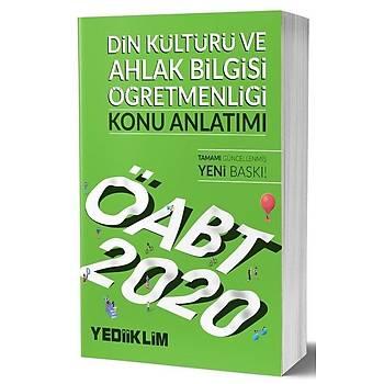 ÖABT Din Kültürü ve Ahlak Bilgisi Öðretmenliði Konu Anlatýmlý Yediiklim Yayýnlarý 2020