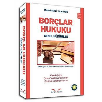 Borçlar Hukuku Genel Hükümler - Mehmet Remzi, Sezer Aydýn 11 baský