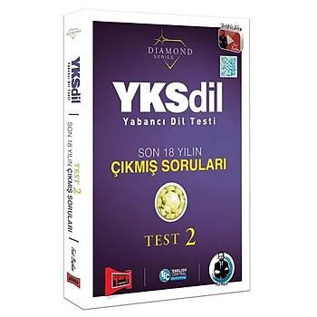 YKSDÝL Yabancý Dil Testi Son 18 Yýlýn Çýkmýþ Sorularý Test 2 Yargý Yayýnlarý