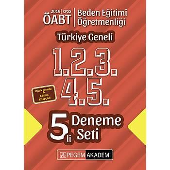 2019 KPSS ÖABT Beden Eðitimi Öðretmenliði Türkiye Geneli Deneme (1.2.3.4.5) 5`li Deneme Set