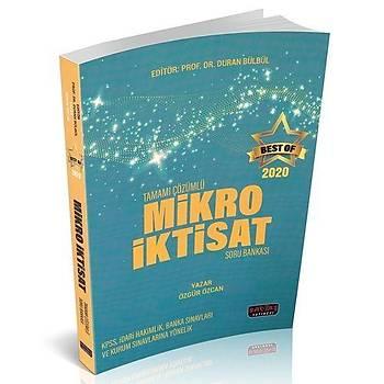 BEST OF Mikro Ýktisat Tamamý Çözümlü Soru Bankasý Savaþ Yayýnlarý 2020