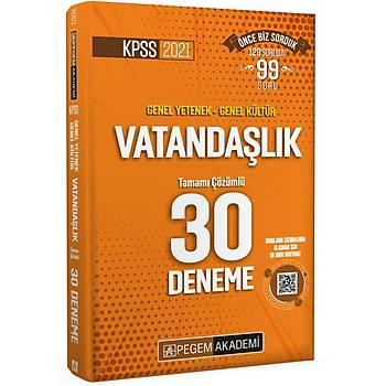 2021 KPSS Genel Yetenek - Genel Kültür Vatandaþlýk 30 Deneme