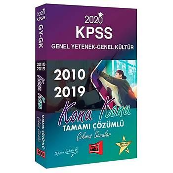 KPSS Konu Konu Çýkmýþ Sýnav Sorularý ve Çözümleri GY-GK Yargý Yayýnlarý 2020