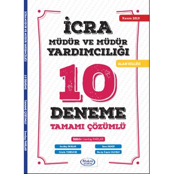 Makro Akademi Ýcra Müdür ve Müdür Yardýmcýlýðý 10 Deneme Çözümlü