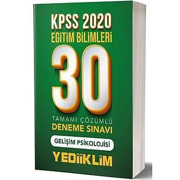 KPSS Eðitim Bilimleri Geliþim Psikolojisi 30 Deneme Yediiklim Yayýnlarý 2020