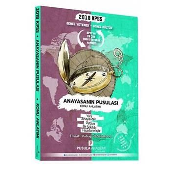 Pusula Akademi Yayýnlarý 2018 KPSS GYGK Anayasanýn Pusulasý Konu Anlatýmý