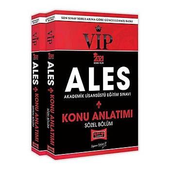 Yargý Yayýnlarý 2021 ALES VIP Sayýsal – Sözel Bölüm Konu Kitabý Seti