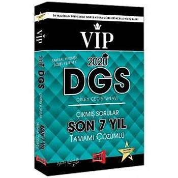 Yargý Yayýnlarý 2020 DGS VIP Sayýsal-Sözel Yetenek Son 7 Yýl Tamamý Çözümlü Çýkmýþ Sorular