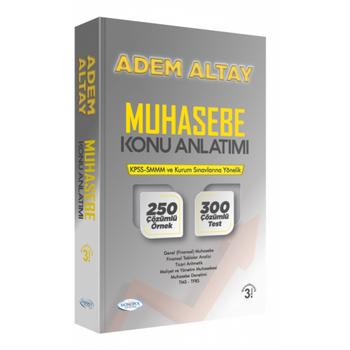 Adem Altay Muhasebe Konu Anlatýmý 3.Baský Monopol Yayýnlarý