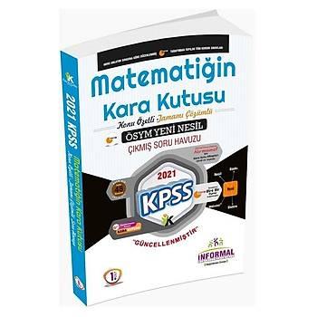 Ýnformal 2021 KPSS Matematiðin Kara Kutusu 1. Cilt Çýkmýþ Sorular Konu Özetli Soru Bankasý Ýnformal Yayýnlarý