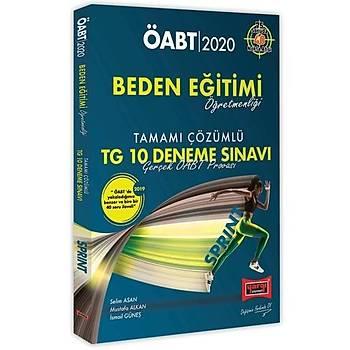 ÖABT SPRINT Beden Eðitimi Öðretmenliði Tamamý Çözümlü TG 10 Deneme Sýnavý Yargý Yayýnlarý 2020