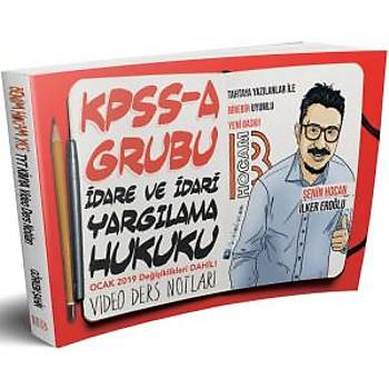 2019 KPSS A Grubu Ýdare ve Ýdari Yargýlama Hukuku Video Ders Notlarý Benim Hocam Yayýnlarý