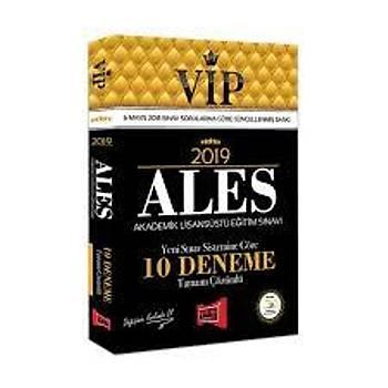 Yargý Yayýnlarý 2019 ALES VIP Yeni Sýnav Sistemine Göre Tamamý Çözümlü 10 Deneme