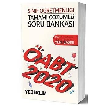 ÖABT Sýnýf Öðretmenliði Soru Bankasý Yediiklim Yayýnlarý 2020