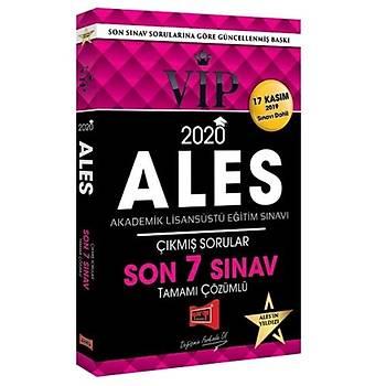 ALES VIP Son 7 Sýnav Çýkmýþ Sorularý ve Çözümleri Yargý Yayýnlarý 2020