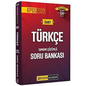 Pegem 2020 KPSS ÖABT Türkçe Tamamý Çözümlü Soru Bankasý