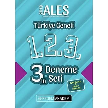 Pegem 2019 ALES Türkiye Geneli 3 Deneme (1.2.3) Pegem Akademi Yayýnlarý