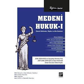 Reform Serisi Medeni Hukuk I Gazi Kitabevi Yayýnlarý 2020