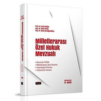 Milletlerarasý Özel Hukuk - Vahit Doðan Ocak 2020