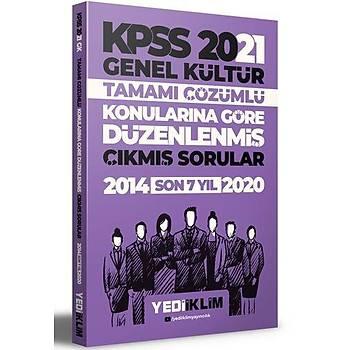 Yediiklim Yayýnlarý 2021 KPSS Genel Kültür Konularýna Göre Tamamý Çözümlü Çýkmýþ Sorular