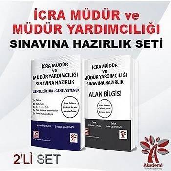 Akademi Ýcra Müdür ve Yardýmcýlýðý Hazýrlýk 2 li Set Akademi Consulting Yayýnlarý