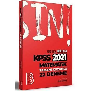 Benim Hocam Yayýnlarý 2021 KPSS Matematik Tamamý Çözümlü 22 Deneme