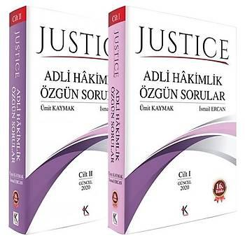 JUSTICE Adli Hakimlik Özgün Sorular - Ümit Kaymak, Ýsmail Ercan Aðustos 2020