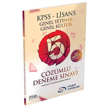 Murat 2020 KPSS Genel Yetenek Genel Kültür 5 Deneme Çözümlü Murat Yayýnlarý