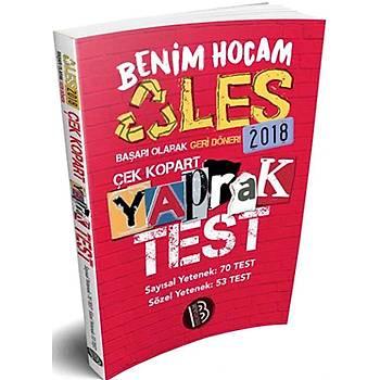 2018 ALES Sayýsal Sözel Yetenek Çek Kopart Yaprak Test Benim Hocam Yayýnlarý