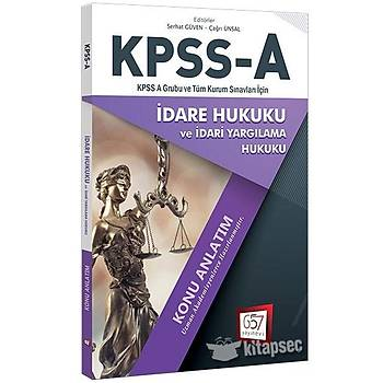 2018 KPSS A Grubu Ýdare Hukuku Konu Anlatým 657 Yayýnlarý