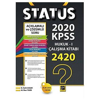 Status KPSS A Gurubu Hukuk I Çalýþma Kitabý Gazi Kitabevi Yayýnlarý 2020