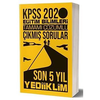 KPSS Eðitim Bilimleri Son 5 Yýl Çözümlü Çýkmýþ Sorular Yediiklim Yayýnlarý 2020