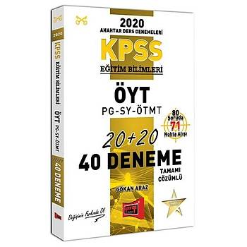 KPSS Eðitim Bilimleri ÖYT-PG-SY-ÖTMT Tamamý Çözümlü 40 Deneme Yargý Yayýnlarý 2020