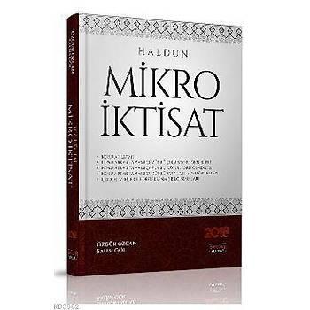 HALDUN Mikro Ýktisat - Özgür Özcan, Salim Göl Savaþ Yayýnlarý 2018