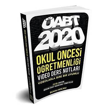ÖABT Okul Öncesi Öðretmenliði Video Ders Notlarý Benim Hocam Yayýnlarý 2020